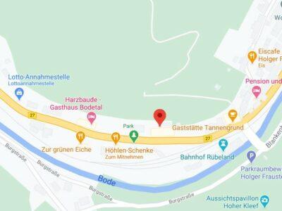 Karte Rübeland